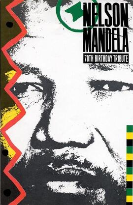 Nelson Mandela's 70th Birthday Tribute Concert, Wembley Stadium, London