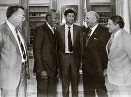 Nelson Mandela and P.W. Botha's secret meeting, South Africa [te_jul1989_MADIBA & BOTHA....